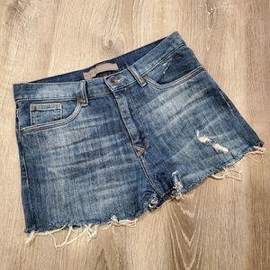 Zara Basic Jean Shorts